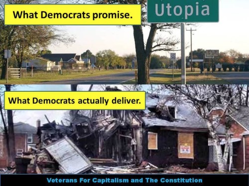 Democrat promises and deliveries
