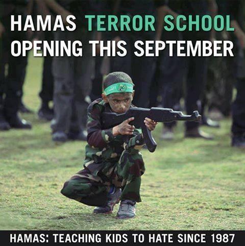 Hamas teaching kids to hate