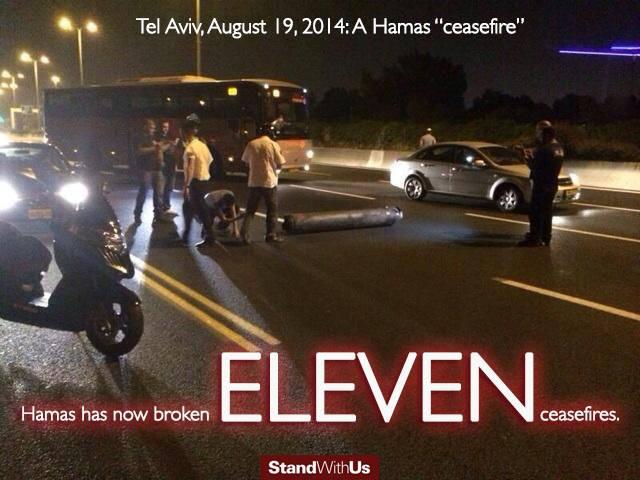 Hamas violates 11th ceasefire