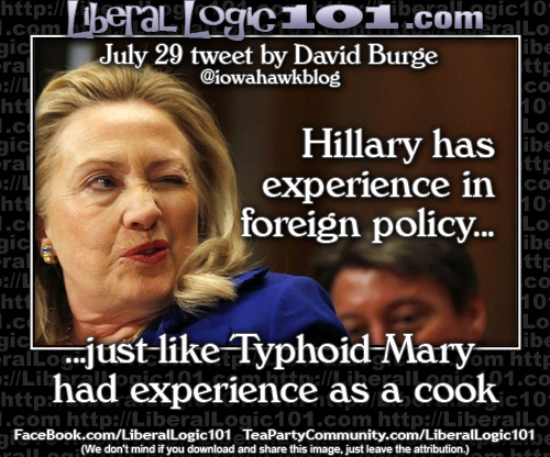 Hillary's foreign policy experience