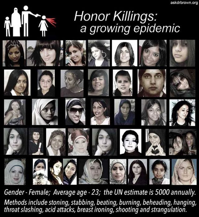 Honor killing war on women