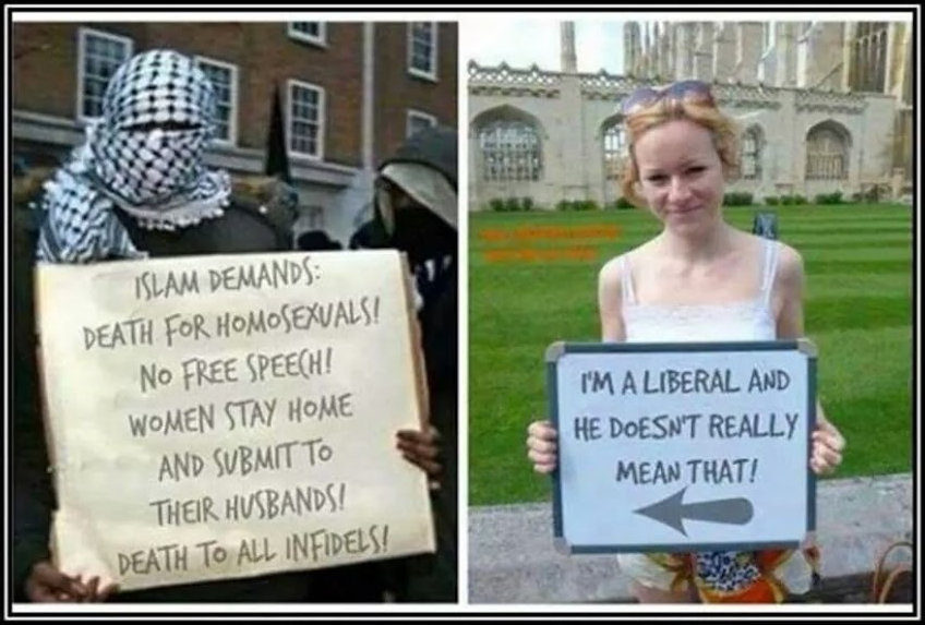 Liberal blindness re Islam
