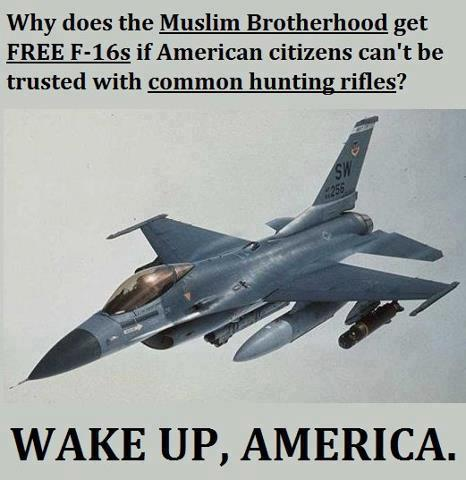 Muslim brother hood and guns