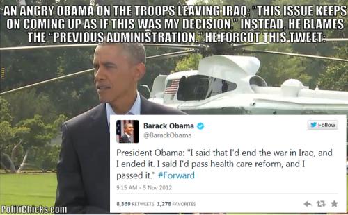 Obama amnesia