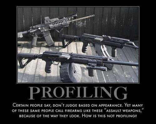 Profiling weapons