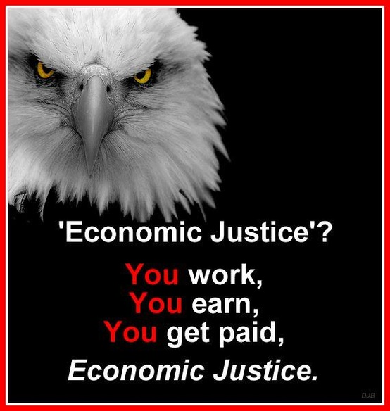 Real economic justice