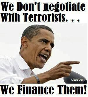 We finance terrorists
