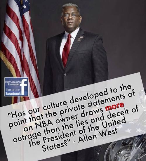Allen West on cultural degradation