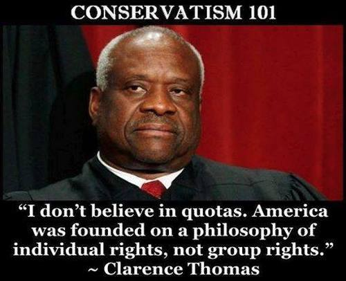 America founded on individual rights not group rights