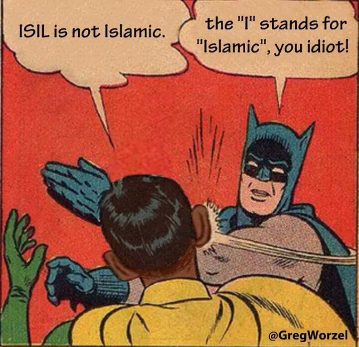 Batman on what's Islamic