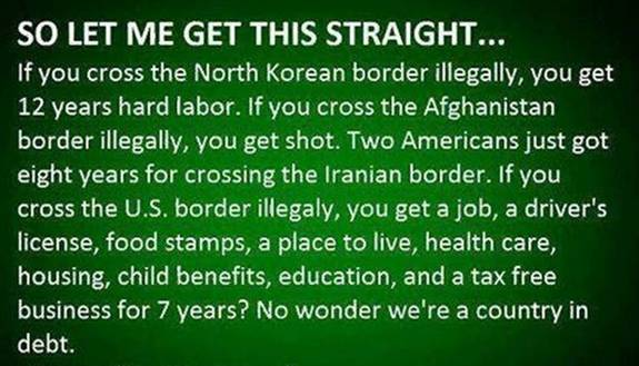 Benefits of crossing American border