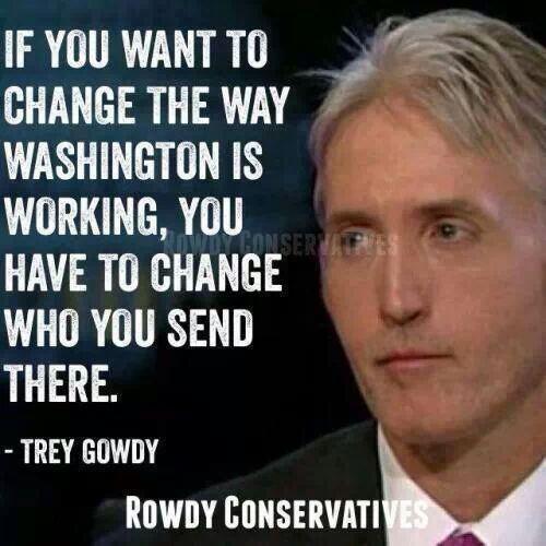 Change who you send to Washington