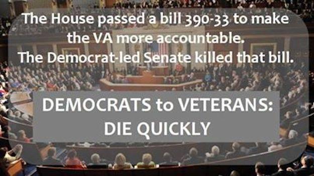 Democrats hate vets