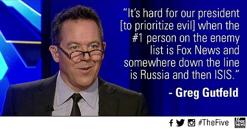 Gutfeld on Obama's enemy list