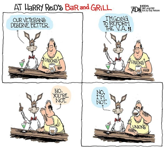 Harry Reid's take on the VA scandal