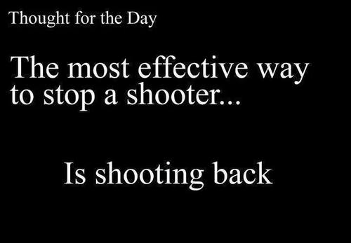 How to stop a shooter