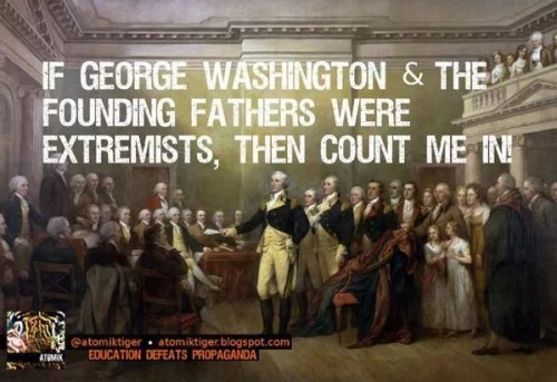 If Founders were extremists