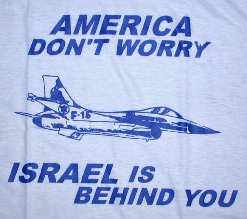 Israel is behind you