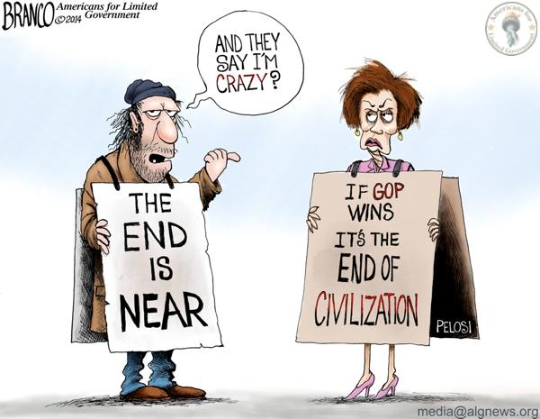 Nancy Pelosi and the end of civilization