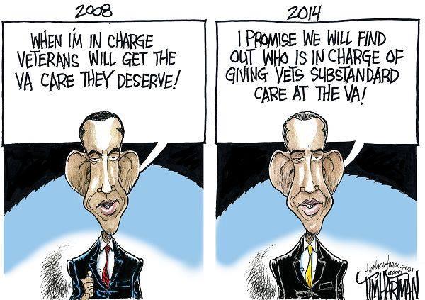 Obama's VA promises