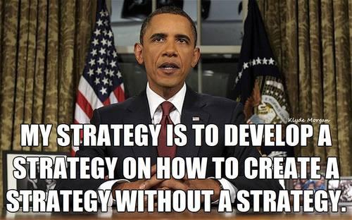 Obama's strategy