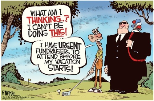 Reasons Obama wouldn't golf