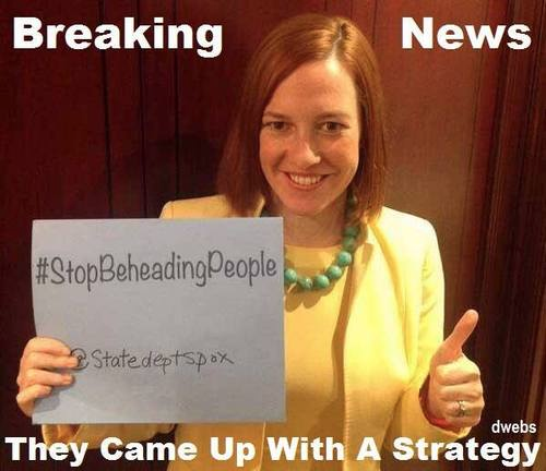 State Dept came up with a strategy