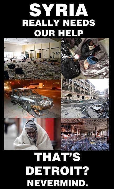 Syria v Detroit