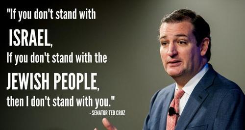 Ted Cruz on Israel