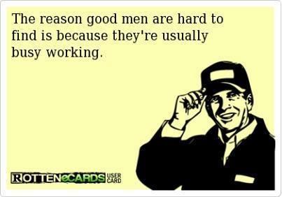 Where the good men are  hiding