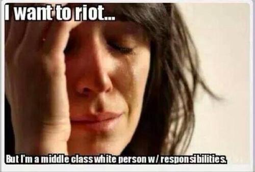 Whites don't riot