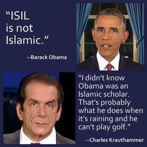 Who knew Obama was an Islamic scholar