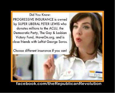 Why I don't have Progressive insurance