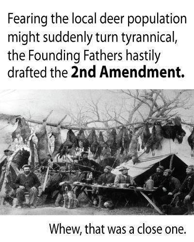 Why the Founders drafted the 2nd Amendment