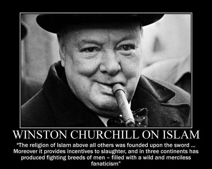 Winston Churchill on Islam