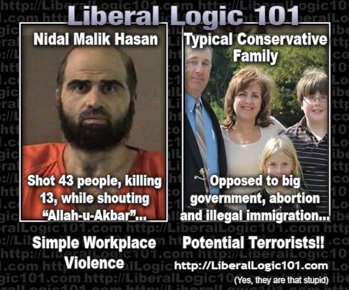 Workplace violence and real terrorists
