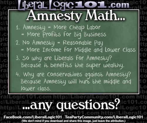 Amnesty math