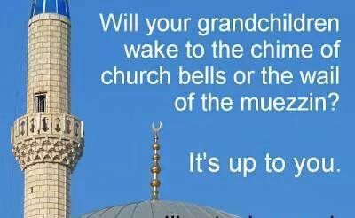Church bells or Muezzin