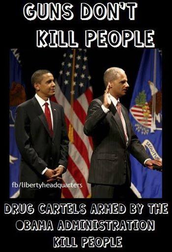 Drug cartels not guns kill people