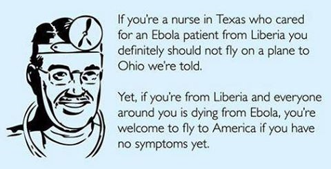 Ebola Nurses shouldn't fly on planes but West Africans can