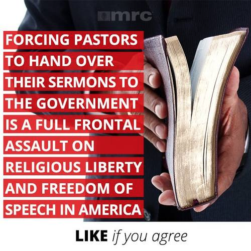 Full front assault on liberty to make pastors hand over sermons