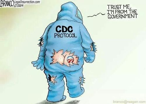 Hazmat suit cartoon
