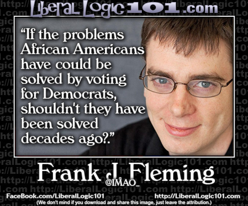If voting Democrat solves black problems, why are blacks still in trouble