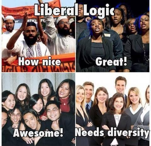 Liberals and diversity