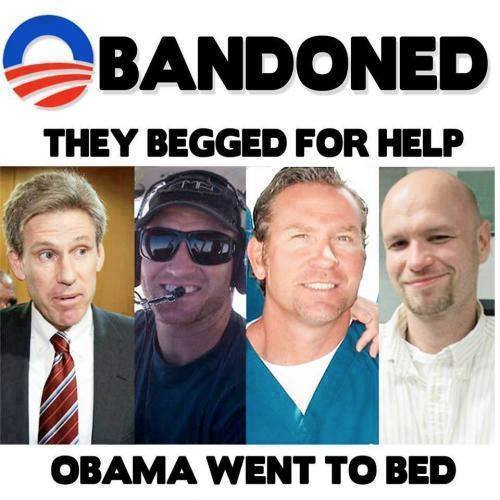 Obama abandoned the Benghazi four