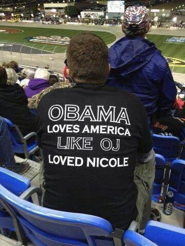 Obama like OJ and Nicole