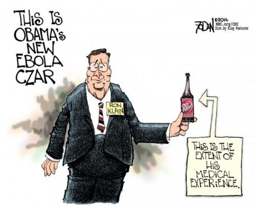 Obama's new Ebola czar's medical experience equals Dr Pepper