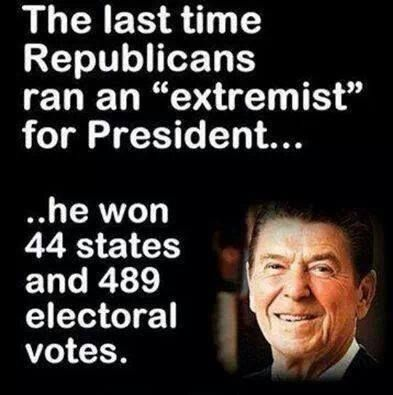 Reagan Republican extremists win