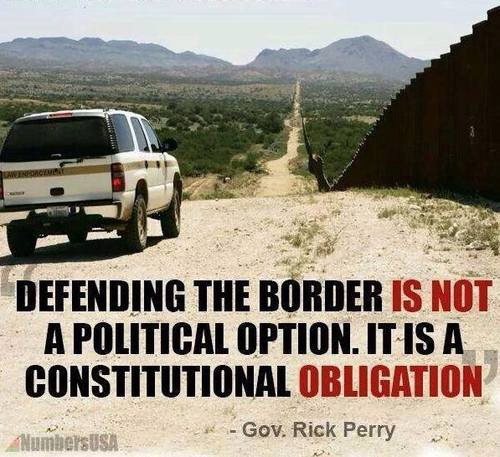 Rick Perry on defending the border