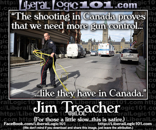 Shooting in Canada has liberals demanding more gun control